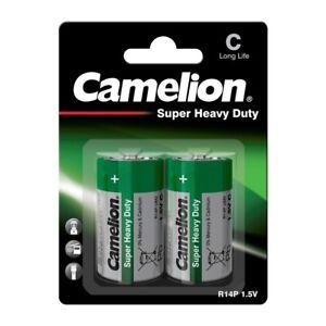 R14 Zink-Kohle-Batterie 1,5V  Baby C 2er-Blister von Camelion