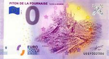 97 ILE DE LA REUNION Piton de la Fournaise 2, 2020, Billet Euro Souvenir