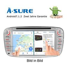 "7"" Android 7.1 DVD Navi Autoradio für FORD Ford Mondeo Fucus C/S-MAX Galaxy Kuga"