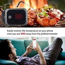 Digital Thermomètre BBQ Bluetooth Température Barbecue Grillades Roast Viandes