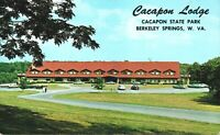 Berkeley Springs,WV,Cacapon Lodge at Trent Jones Golf Course,Postcard