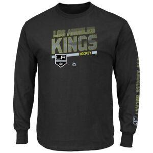 "Los Angeles Kings Majestic NHL ""Brawl"" Long Sleeve Men's T-Shirt"
