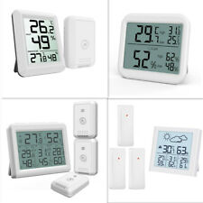 Digital LCD Display Out/Indoor Thermometer Hygrometer Temperature Humidity Meter