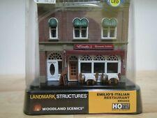 Woodland Scenics HO Landmark Structures Emilio's Italian Restaurant BR5055