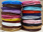 1mm 1.5mm 2mm Genuine Round Cowhide Leather Cord Bracelet String - Choose Color!