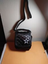 467c0596d DALLAS COWBOYS NFL BLACK SATIN SHOULDER BAG VERY PRETTY NEW WITH TAGS