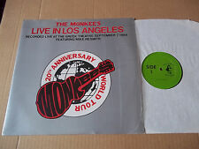 The Monkees - Live In Los Angeles 1986 w/ Nesmith rare live LP Not TMOQ NM