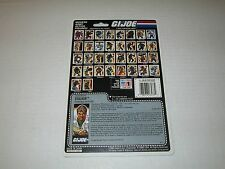 Gi Joe Vintage 1988 STALKER UNCUT FULL FILE CARD