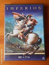 DVD IMPERIOS - NAPOLEON - 4. EL FIN (W7)