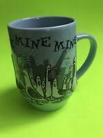 Disney Parks Finding Nemo Mine Mine Mine Blue Coffee Cup Mug Seagulls