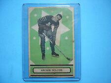 1933/34 O-PEE-CHEE V304 SERIES B NHL HOCKEY CARD #57 ARCHIE WILCOX VG/EX PL OPC
