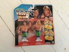 WWF WWE moc Hasbro signed by Marty Jannetty