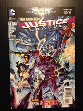 Justice League #11 (Dc Comics New 52 2012) Geoff Johns & Jim Lee Near Mint Nm!