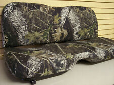 John Deere 625i-825i-855D Gator Bench Seat Covers 2012-17 - Camo-Solid-USA MADE