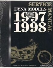 1997 1998 Harley Davidson DYNA MODELS Service Repair Shop Manual Factory x NEW