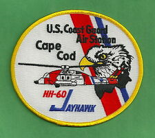 U.S. COAST GUARD CAPE COD HH-60 SAR HELICOPTER PATCH