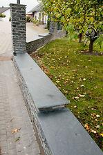 Mauerabdeckung für Gartenmauer / Mauersteine - Schiefer auf Maß zugeschnitten
