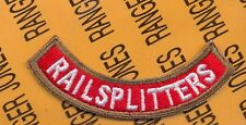 Us Army 84th Infantry Division Railsplitters tab arc patch