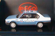 ALFA ROMEO 90 E SUPER POLIZIA AUTOSTRADE PEGO PG1012 1/43 ITALIA AUTOROUTE