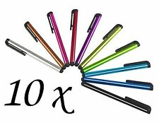 10 x STYLUS PENS for TABLET , MOBILE PHONES, SAMSUNG TAB IPHONE IPAD ETC.