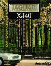 JAGUAR XJ40  (XJ6), CASUCCI, AUTOMOBILIA, NEW 1988 HARDBOUND MOTOR BOOK On Sale