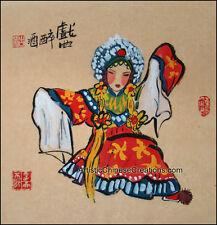 Oriental Asian Chinese Figure Painting - Chinese Opera