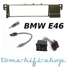BMW 3er E46 Autoradio Einbau-Set ISO Radioblende Radioadapter Antennenadapter
