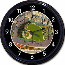 Fenway Park Wall Clock Baseball Boston Red Sox MLB Stadium Vintage Postcard 10""