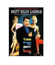 The MATT HELM Lounge - Dean Martin - for Region 2 UK - NEW DVD