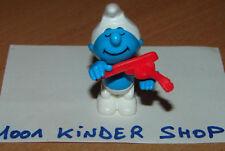 KINDER K97 N°62 SCHTROUMPF SMURF SCHLÜMPFE VIOLON