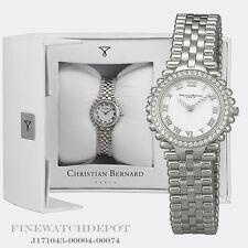 Authentic Christian Bernard Ladies White Dial Watch  NW1311BM