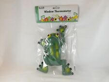 Russco lll Outdoor Window Thermometer -- New -- Frog