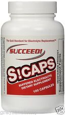 SUCCEED S-Caps endurolyte electrolyte supplement PRO Athletes Only 100 sCaps