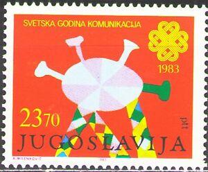 Yugoslavia1983 Sc1660  Mi2021  1v  mnh  World Communications Year