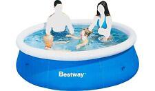 Bestway Quick Up 8ft Swimming Pool Family Paddling Piscina Kids Children Fun