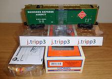 LIONEL #83284 CHRISTMAS PEEKABOO REINDEER REA OPERATING BOXCAR TOY TRAIN O GAUGE