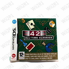 42 All Time Classic Board Card Games for DS DSi DS Lite XL 3DS *1ST CLASS POST*