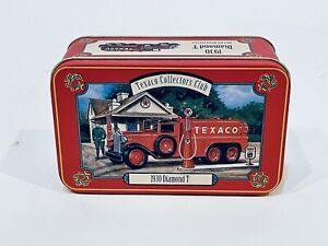 ERTL Texaco Collectors Club 1930 Diamond T 2-1/2 Ton Tanker w/Tin