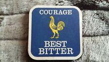 COURAGE BEST BITTER  BEER MAT