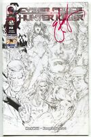 Cyber Force Hunter Killer 2 Image NM LBCC VIP Signed eBas Eric Basaldua Variant