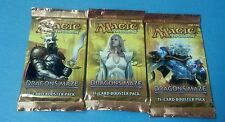 3x Dragon's Maze SEALED Booster Packs MtG Draft Pack Magic the Gathering Cards