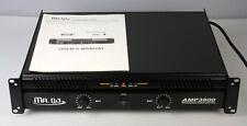 Mr. Dj Amp3800 2-Channel Dynamic Series Power Amplifier, Black