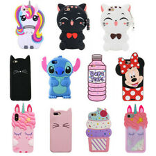 For Samsung Galaxy 3D HOT Case Cover Cute Cartoon Kawaii Animals Soft Silicone