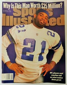 Sports Illustrated  Oct. 9, 1995 Why is This Man Worth $35 Million No Label