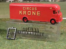 Brekina 57529 Circus Krone MAN Transporter 1:87
