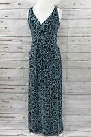 Lauren Ralph Lauren Women's maxi dress sleeveless empire waist stretchy Size 8