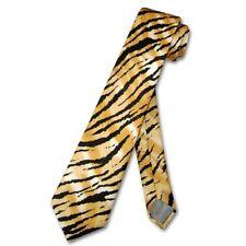 BOY'S TIGER Animal Skin Print Design Neck Tie 100% SILK NeckTie