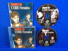 Sega Dreamcast RESIDENT EVIL Code: Veronica RPG Game *Y Boxed COMPLETE PAL