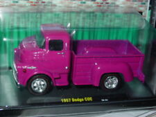 M2 MACHINES AUTO TRUCKS 1957 57 DODGE 700 COE MOPAR TRUCK -Dark Pink, MIP