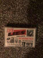 Guns N Roses - Lies - Cassette Tape - VG+.  Geffen.  See Pics.